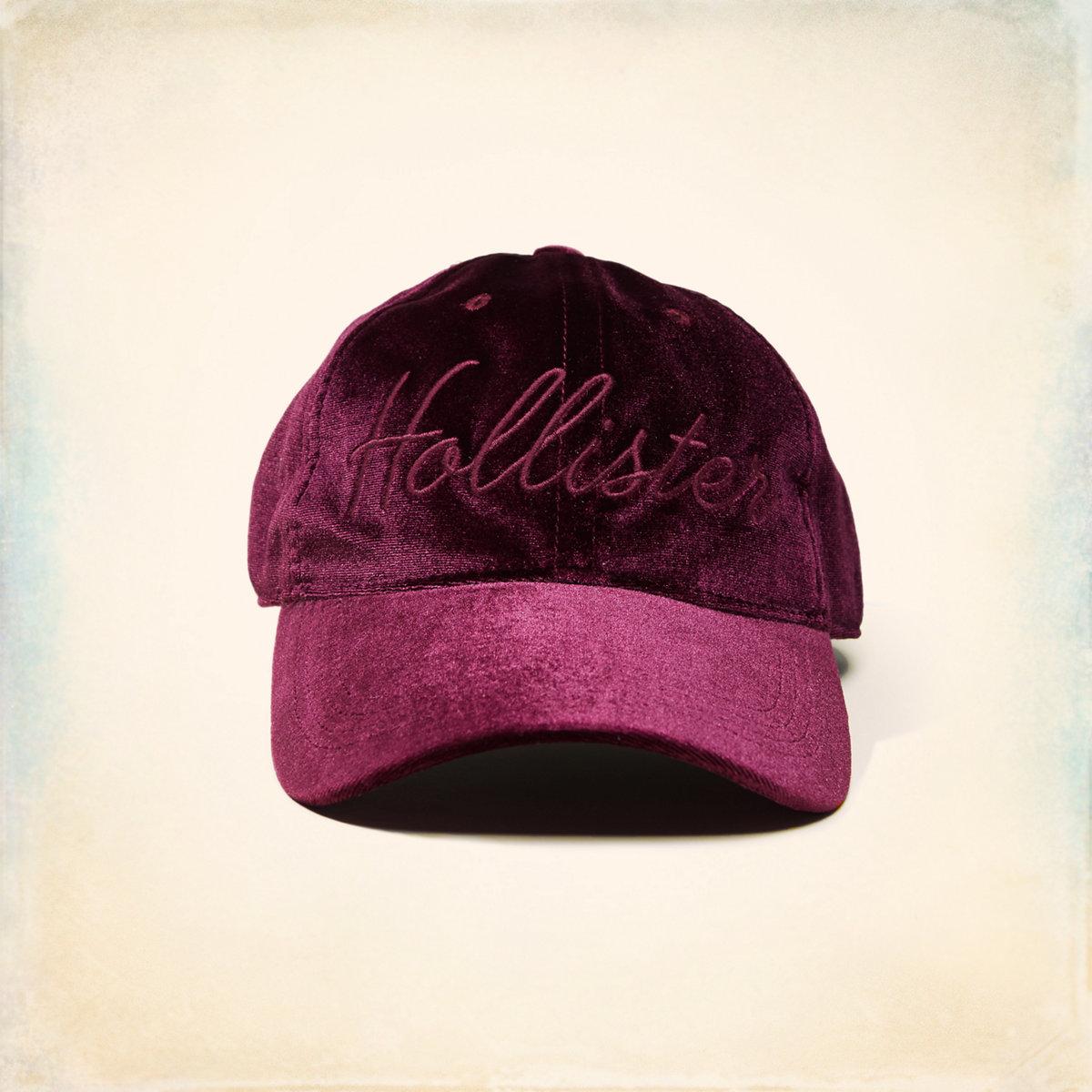Velvet Dad Hat