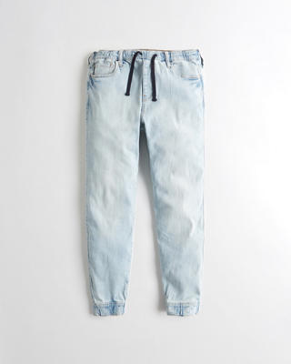 Advanced Stretch Denim Jogger Pants