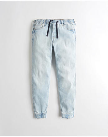 hol Advanced Stretch Denim Jogger Pants