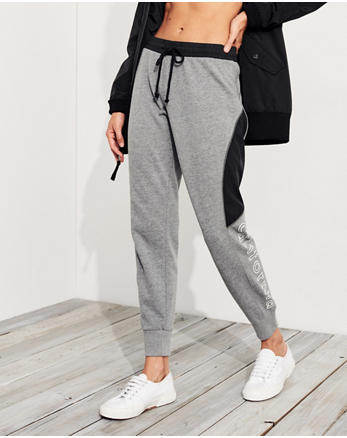 hol Graphic Mid-Rise Fleece Joggers