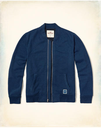 hol Fleece Bomber Jacket
