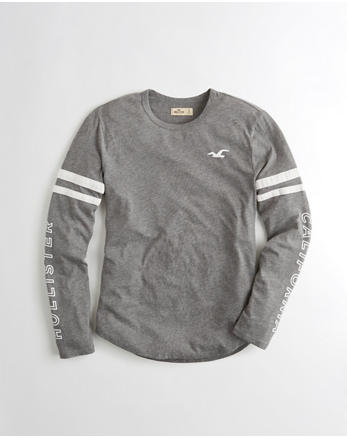 hol Long-Sleeve Graphic Tee