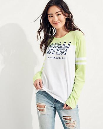 Long-Sleeve Graphic Tee