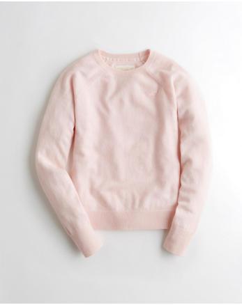 hol Cashmere-Blend Crewneck Sweater