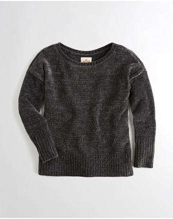hol Oversized Chenille Sweater