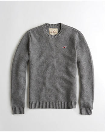 hol Wool-Blend Crewneck Sweater
