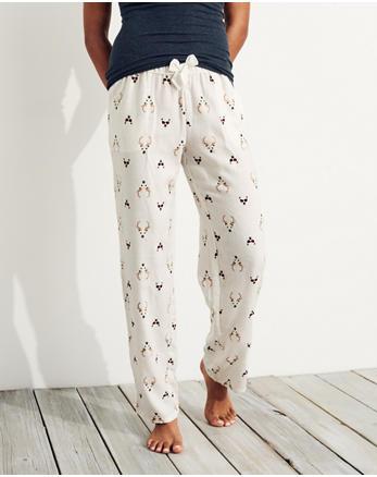 hol Boyfriend Flannel Sleep Pants