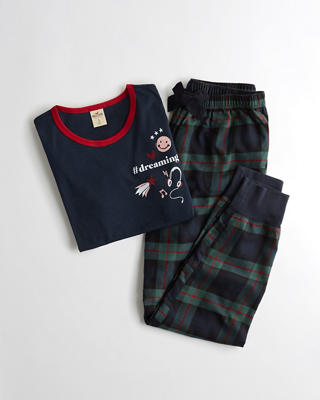 Holiday Flannel Sleep Set