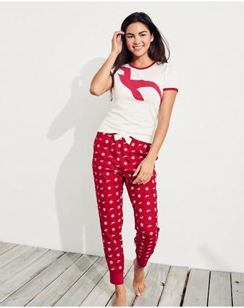 hol Holiday Flannel Sleep Set