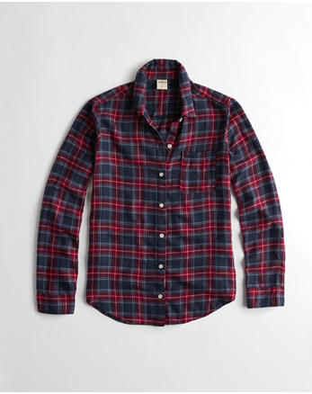 hol Flannel Sleep Shirt