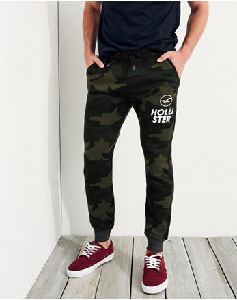 hol Super Skinny Fleece Jogger Pants