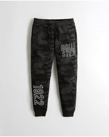 hol Graphic Skinny Jogger Pants