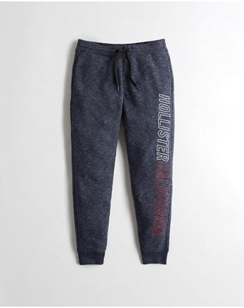 hol Graphic Skinny Jogger Pants
