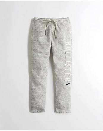 hol Logo Graphic Straight-Leg Sweatpants