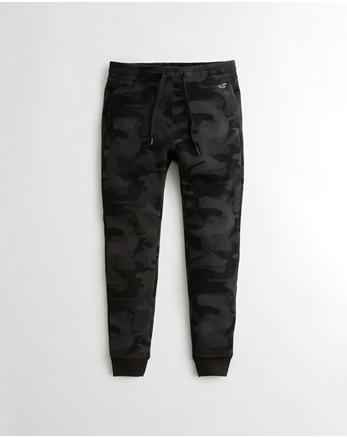 hol Extreme Skinny Fleece Jogger Pants