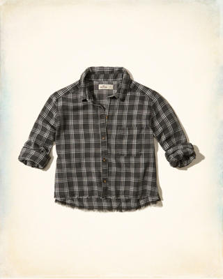 Burnout Button-Front Shirt
