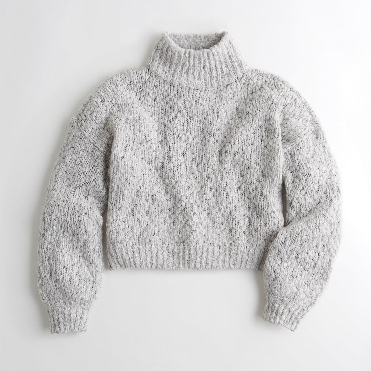 Shine Chunky Turtleneck Sweater