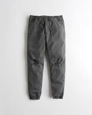 Advanced Stretch Ripped Twill Jogger Pants