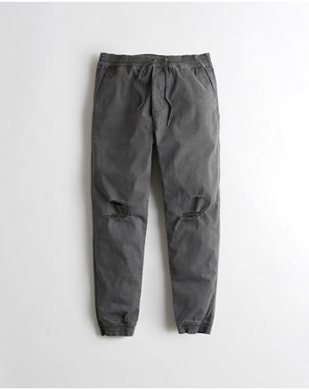 hol Advanced Stretch Ripped Twill Jogger Pants