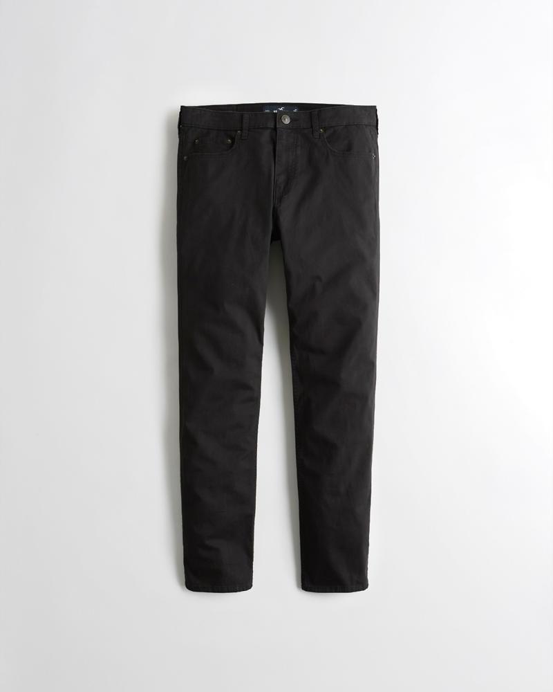 37527173 Guys Hollister Epic Flex Skinny Twill Pants   Guys Bottoms ...