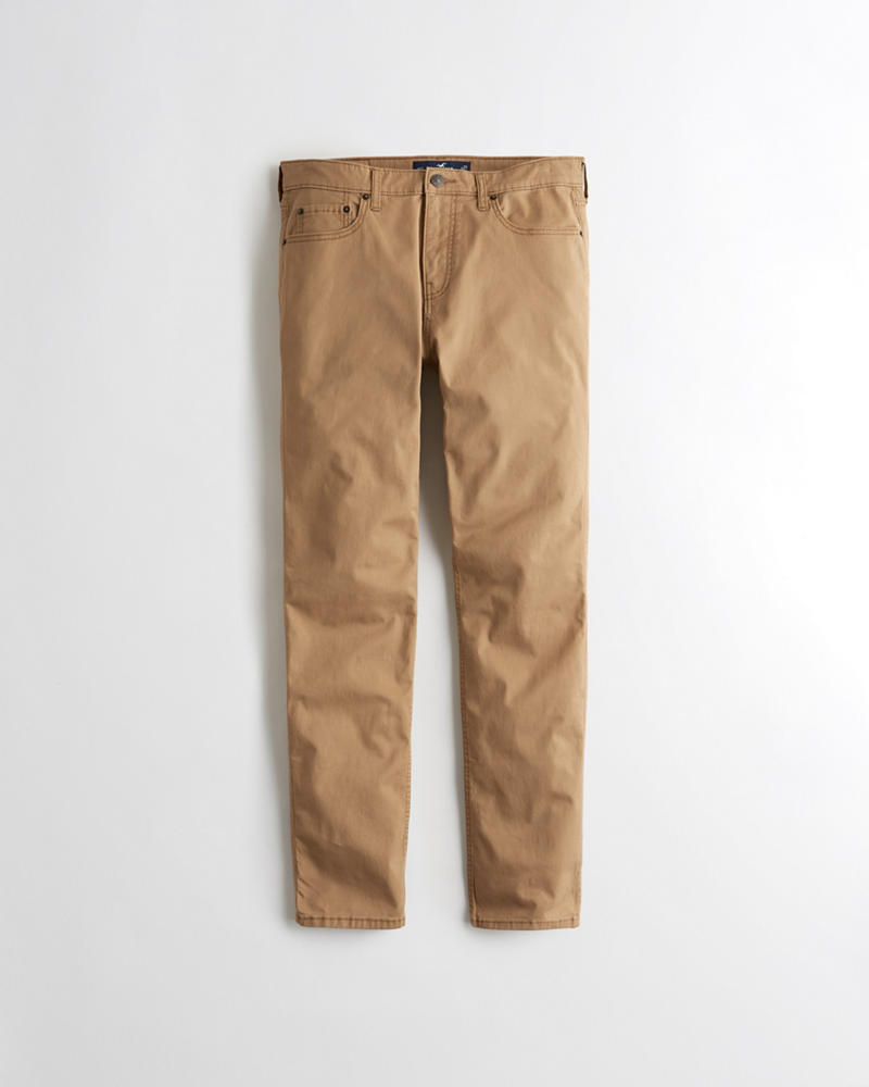 Guys Hollister Epic Flex Skinny Twill Pants   Guys   HollisterCo.com