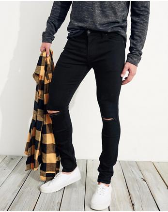 hol Advanced Stretch Extreme Skinny No Fade Jeans