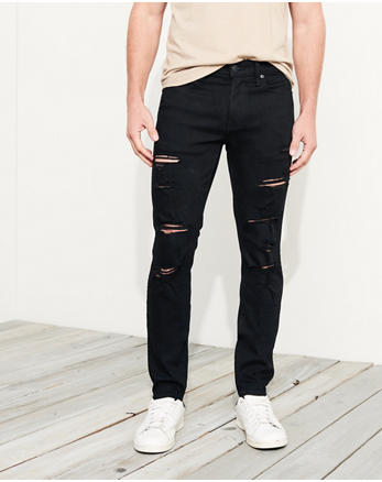hol Advanced Stretch Super Skinny No Fade Jeans
