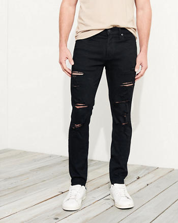 Advanced Stretch Super Skinny No Fade Jeans