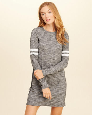 Long-Sleeve T-Shirt Dress