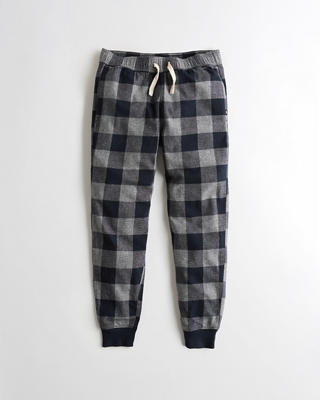Stretch Flannel Jogger Pants