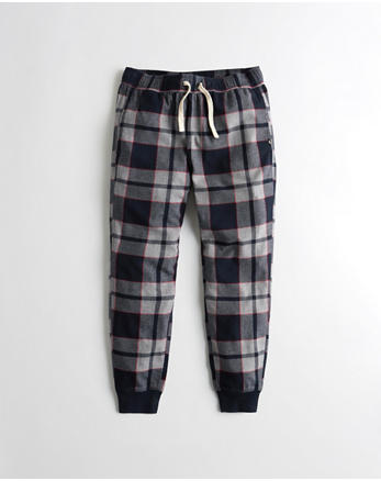 hol Stretch Flannel Jogger Pants