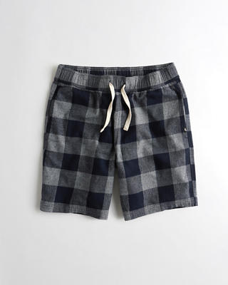 Stretch Flannel Shorts