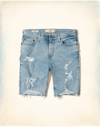 hol Classic Fit Denim Shorts