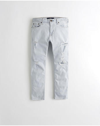 hol Epic Flex Super Skinny Cutoff Ankle Jeans