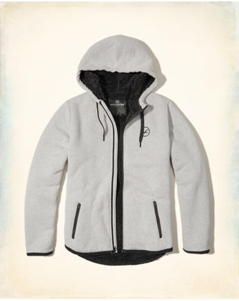 hol Sherpa-Lined Icon Hoodie