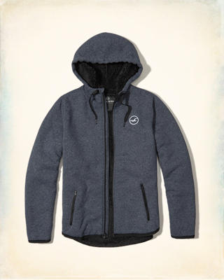 Sherpa-Lined Icon Hoodie