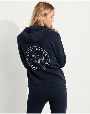 hol Logo Full-Zip Hoodie