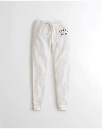 hol Logo High-Rise Fleece Leggings