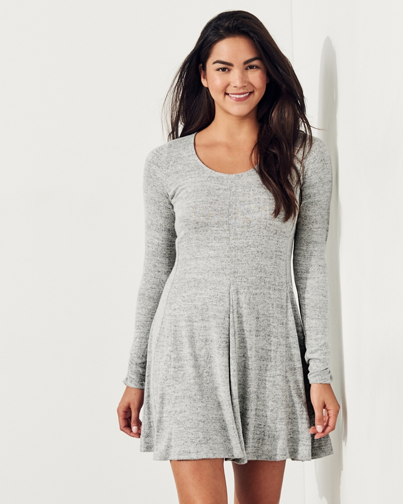 M co long dresses knit