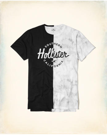 hol Split Graphic Tee