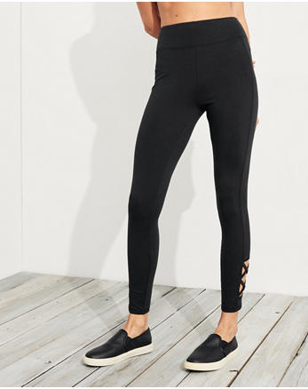 hol Ultra High-Rise Jersey Leggings