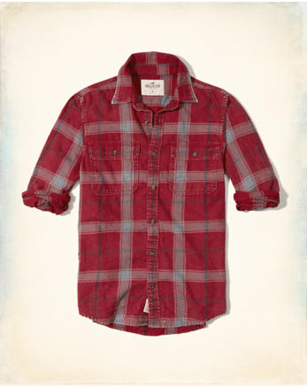 hol Plaid Twill Utility Shirt