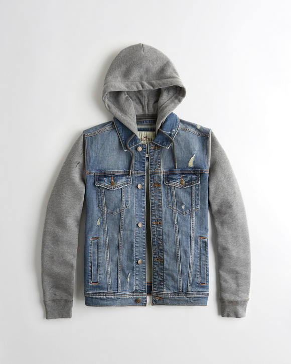 Denim Jacket. Looking to add a bit of rugged refinement to your look? Consider a denim jacket. From contemporary cropped silhouettes for her to cool, classic styles for him, choose from a range of designs to highlight your style.