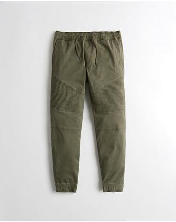 hol Moto Twill Jogger Pants