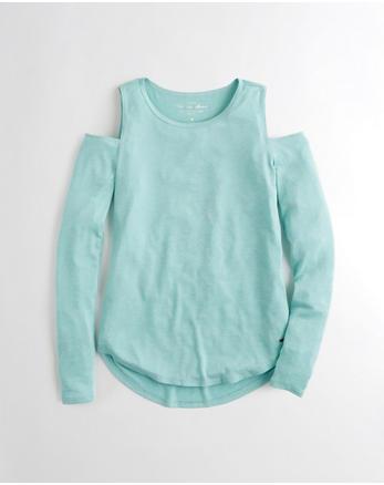 hol Must-Have Cold Shoulder T-Shirt