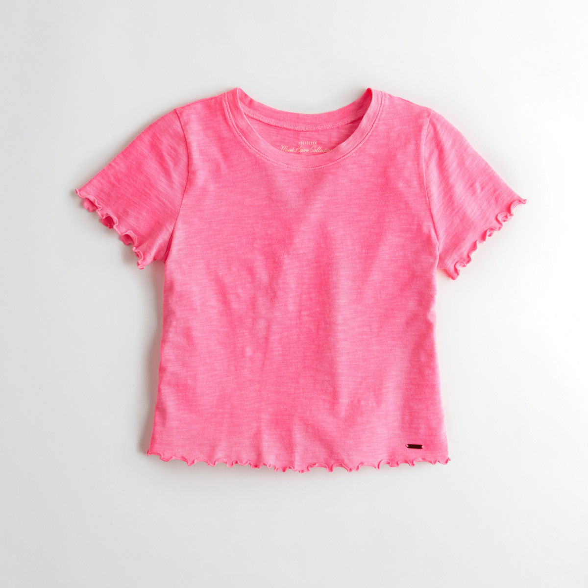 Must-Have Crop Slim T-Shirt