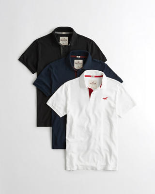 Stretch Pique Polo Multipack