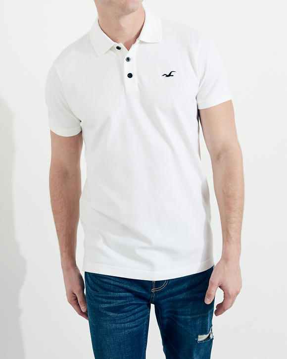 Stretch Polo by Hollister
