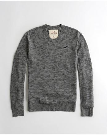 hol Lightweight V-Neck Sweater
