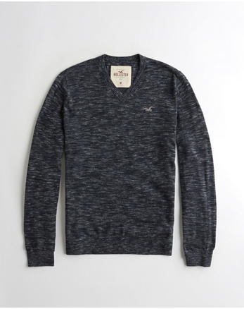 hol Lightweight V-Neck Sweater